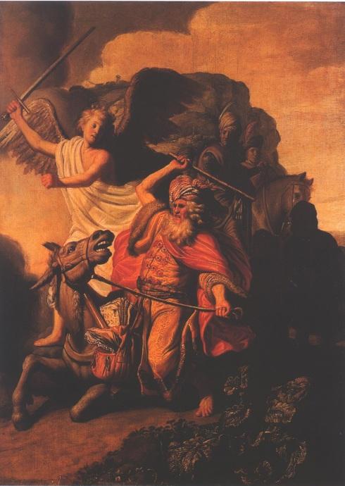 Rembrandt, burra de Balam